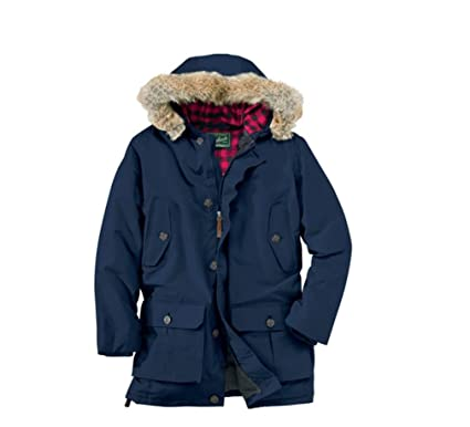2d51523df818 Woolrich Men's Arctic Down Parka 550 Fill Deep Navy at Amazon Men's ...