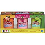 Play-Doh Scents 3-Pack of Fruit Scented Modeling Compound for Kids 3 Years and Up, 4-Ounce Cans, Non-Toxic