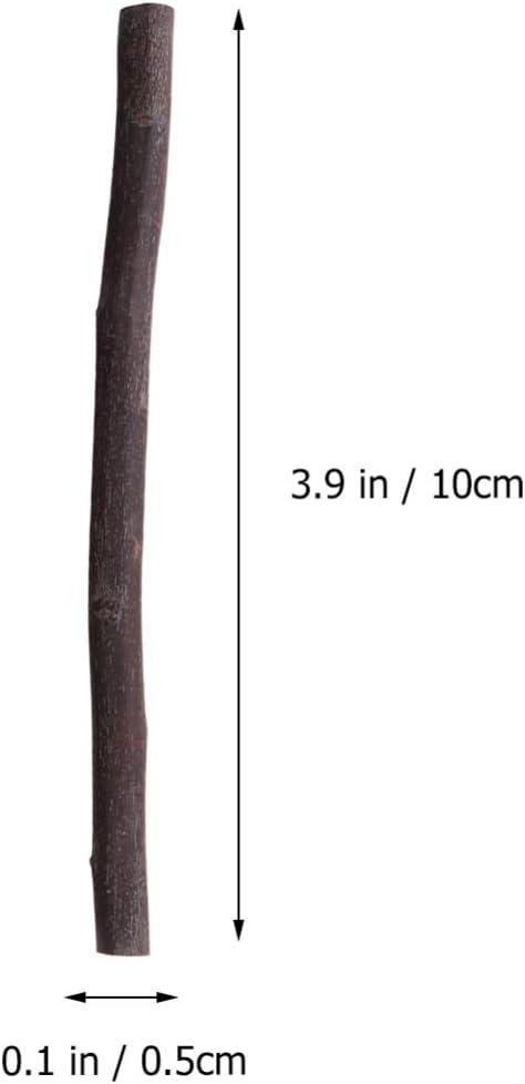 Branches s/èches d/écoration Florale b/âtonnets en Bois pour d/écoration Artisanale Amosfun Lot de 30 Branches de 10 cm Faites /à la Main