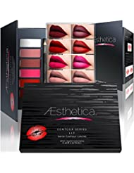 Aesthetica Matte Lip Contour Kit - Contouring and Highlighting...