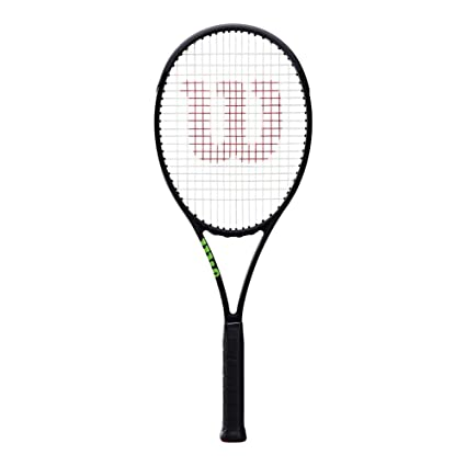 Wilson Blade 98 (16x19) Countervail Black Tennis Racket Without Cover,  Unstrung, 4 1/8 Inch Grip