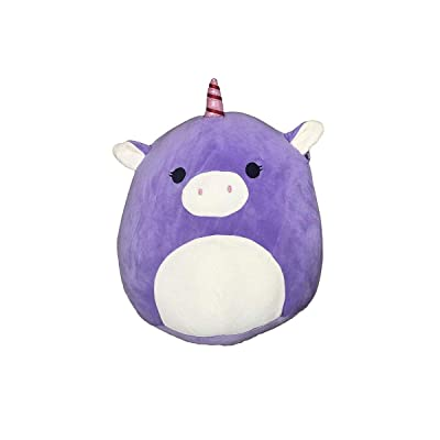 Squishmallow Kellytoy 13 Inch Astrid The Purple Unicorn Super Soft Plush Toy Pillow Pet: Toys & Games
