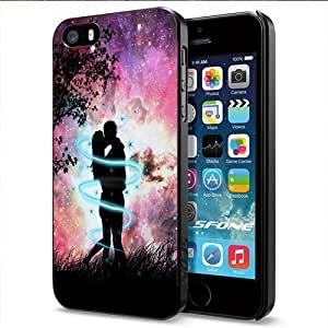 Romantic Love Couple Apple Smartphone iphone 4s Case Cover Collector Black Hard Cases