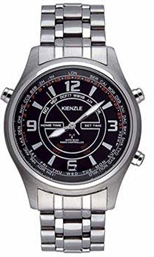 Kienzle V71091437290 - Reloj para hombres, correa de acero inoxidable color plateado: Amazon.es: Relojes