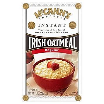 Instantánea 335g de harina de avena irlandesa de McCann: Amazon.es: Hogar
