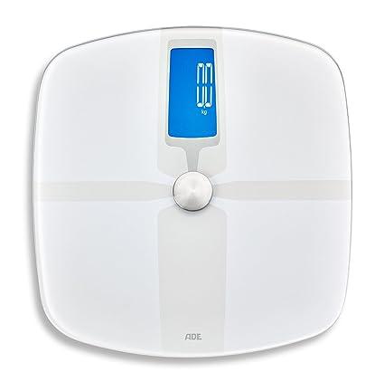 ADE ba1800 BA 1800 fitvigo Báscula de grasa corporal, color blanco