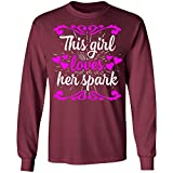 This Girl Loves Her Spark Advocare Fitness, Long Sleeve T-Shirt