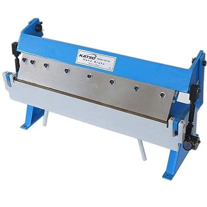 165155 Manual Sheet Metal Bending Folding Machine Bender 610mm 1 0mm