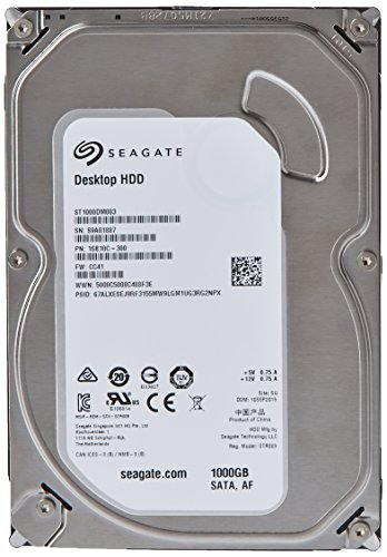 Seagate Desktop 3 5 Inch Internal ST1000DM003 product image