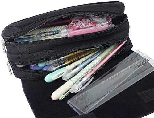 Zhongjiany Sailor Moon - Estuche con cremallera para lápices, bolsa de maquillaje, bolsa de cosméticos para mujer, color Style01: Amazon.es: Oficina y papelería