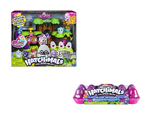 Hatchimals Colleggtibles Nursery And Colleggtibles 12 Pack Egg Carton Bundle