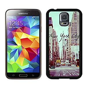 Vintage New York City Samsung Galaxy S5 Case Black Cover