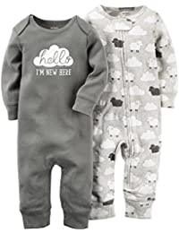 Carter's Baby Boys' 2 Pack Jumpsuits (Baby)