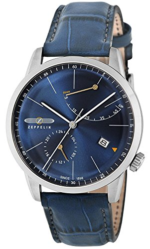 ZEPPELIN watch Flat Line navy dial 7366-3 Men's parallel import goods]