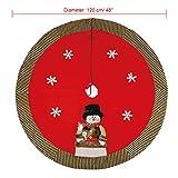 Lifeasy LY-02 Christmas Tree Skirt Xmas Red