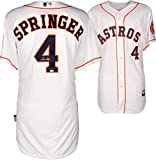 George Springer Houston Astros Autographed Majestic Authentic Home Jersey - Fanatics Authentic Certified