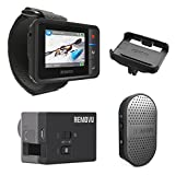 REMOVU Essential Bundle Pack of R1+ Remote viewer and M1A1 Mic and Receiver - plus bonus R1C cradle for R1+