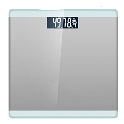 NQFL GWDZX Ultra Thin Weighing Scales Electronic Bathroom Scales Usb  Rechargeable Tempered Vitreous High Precision