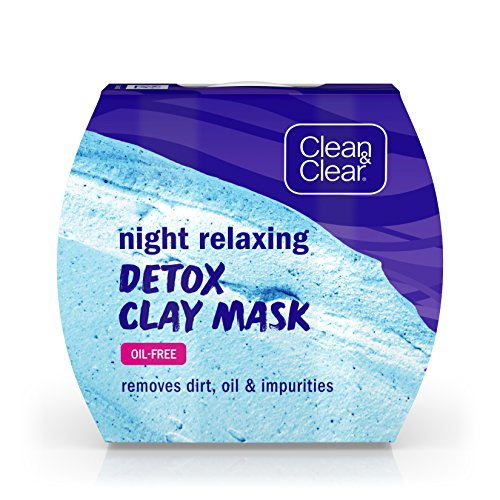 Clean & Clear Clean&Clear Night Relaxing Detox Bentonite ...