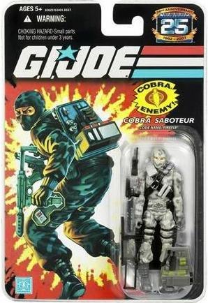 Joe Gi Firefly - G.I. Joe 25th Anniversary: Firefly (Cobra Saboteur) 3.75 Inch Action Figure