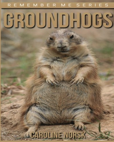 Groundhogs: Amazing Photos & Fun Facts Book About Groundhogs For Kids (Remember Me Series)