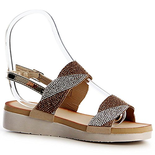 Or Sandalettes Sandales Femmes Femmes Sandalettes Or topschuhe24 topschuhe24 Femmes topschuhe24 Sandales 7qAFXf