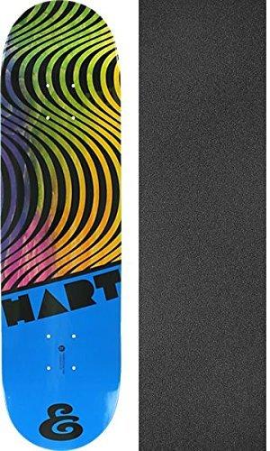 グループマイクロ国民Expedition OneスケートボードケリーHart Hypercolorスケートボードデッキ – 7.9