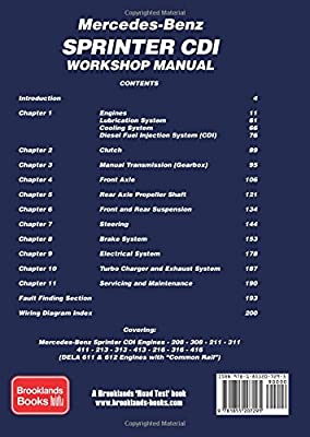 mercedes sprinter owners manual 2001