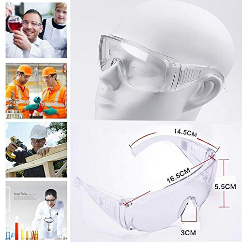 Flyalone⭐ 2020 Newest Goggles for Men and Women: Dust Proof Wind Proof Sand Proof Splash Proof Impact