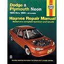 Dodge/Plymouth Neon '95'99 (Haynes Repair Manuals)