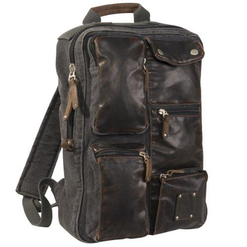 stylish-washed-canvas-backpack-w-leather-trim-0830-black