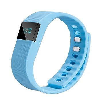 3e74e55856e6 Pulsera deportiva TW64; smartband inalámbrica con Bluetooth 4.0 con ...