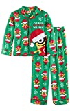 Despicable Me Youth Boys Merry Minions I've Been Good This Year Holiday pajamas 2 piece sz 8