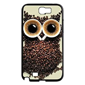 Owl Personalized Cover Case for Samsung Galaxy Note 2 N7100,customized phone case ygtg526859