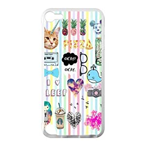 Canting_Good Quotes logos Stickers Tumblr Custom Case Cover Shell for IPod Touch 5 TPU (Laser Technology)