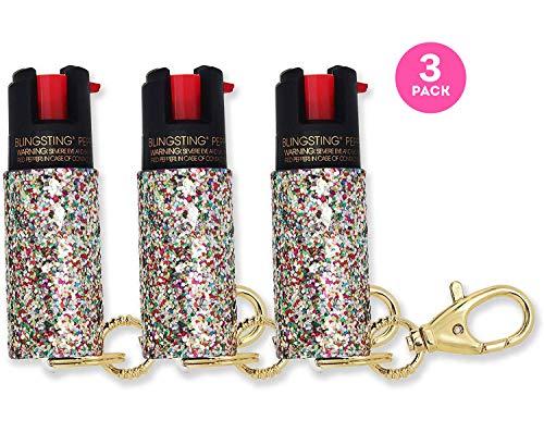 super-cute pepper spray Keychain for Women Professional Grade Maximum Strength