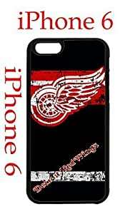 Detroit Red Wings iPhone 6 4.7 Case Hard Silicone Case