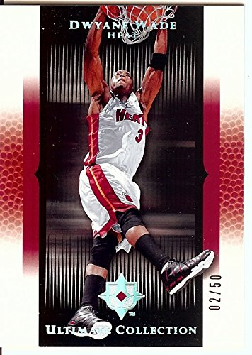 Dwyane Wade 2005-06 UD Ultimate Red Parallel Miami Heat #68 05/50