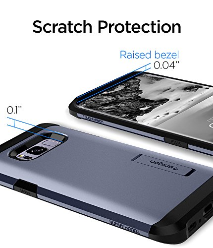 Amazon.com: Spigen Tough Armor Galaxy S8 Plus Case with Kickstand and Extreme Heavy Duty Protection and Air Cushion Technology for Galaxy S8 Plus - Orchid ...