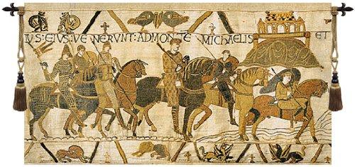Bayeux Mont St. Michael Belgian Wall Art Tapestry