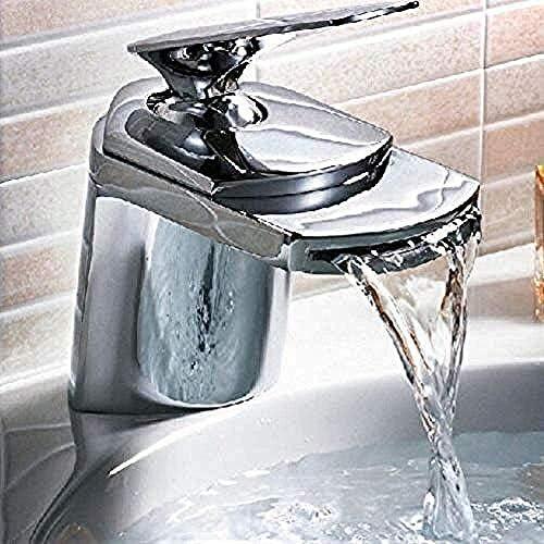 BXU-BG 蛇口タップヒキガエルすべて真鍮ゴールデン/クローム仕上げ/nickleのブラシタップデッキは流域の滝の蛇口ミキサーシンクタップをマウント