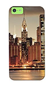 meilinF000Harcvd-6112-wclxnxt New York Buildings Skyscrapers Awesome High Quality Iphone 5c Case Skin/perfect Gift For Christmas DaymeilinF000