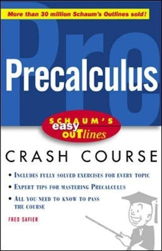 Easy Outline of Precalculus