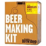 Brooklyn Brew Shop Bruxelles Blonde Beer Making Kit: All-Grain Starter Set With Reusable Glass Fermenter, Brew Equipment, Ingredients (Malted Barley, Hops, Yeast) Perfect to Brew Craft Beer At Home
