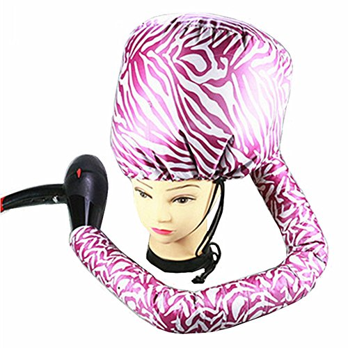 Practical Home Salon Barber Hair Dryer Bonnet Hood, Attachment Hairdressing Hat Cap without Hurt Hair by Aoile - Cap Dryer Hair