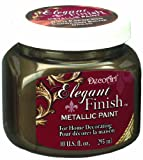 DecoArt DA245-51 Elegant Finish Metallics, 10-Ounce, Rich Espresso