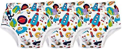 Bambino Mio Culottes dApprentissage de la Propret/é Gira Festive 18-24 Mois Set de 3