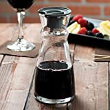 Arcoroc Fluid Carafe 500 ml with lid - Glass Wine and Water Carafe 1 Pc
