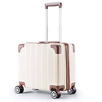 ZWS Suitcases Maleta de Equipaje pequeña para Carrito de bebé, Carcasa rígida de plástico ABS