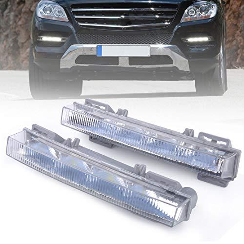 Price comparison product image FidgetFidget LED Daytime Running Light Driving Lamp for 2049065401 Cars 166 X204